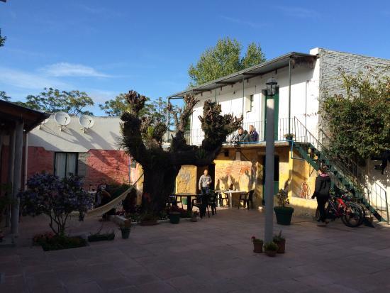 Hostel El Espanol : Le patio