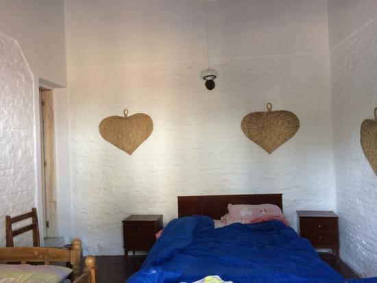 Hostel El Espanol: Chambre double sur patio