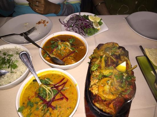 Mehndi Restaurant Morristown Menu : Dal tadka and non veg platter picture of mehndi