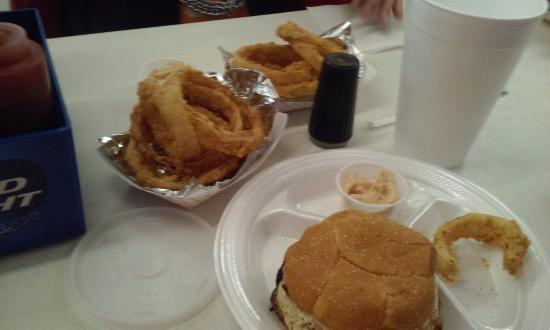 Jasper, FL: thick onion rings