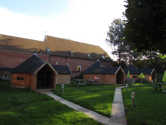 YHA Canterbury: The hobbit holes