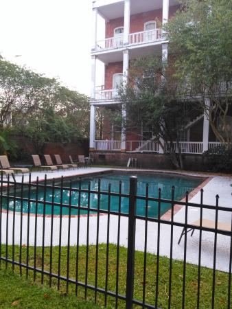 St. Vincent's Guest House: pool area