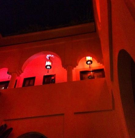 Riad Capaldi: View of the rooms from below
