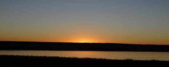 Las Vegas National Wildlife Refuge: sunrise at the refuge