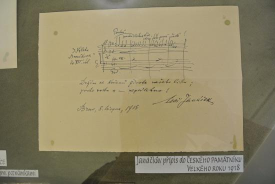 Brno, Tjeckien: A motive from his journal, c.1918