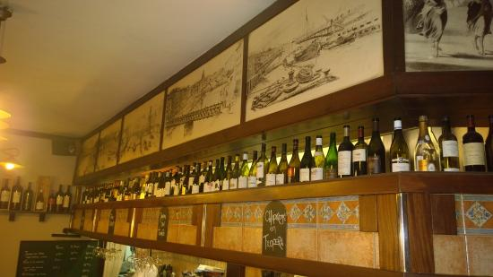 Restaurante Lar : gran carta de vinos