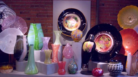Glasshouse studio spectacular glass art