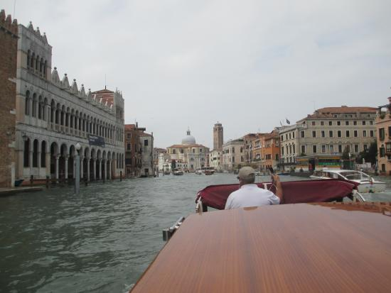 Venice Italy Private Water Taxi From Airport Picture Of