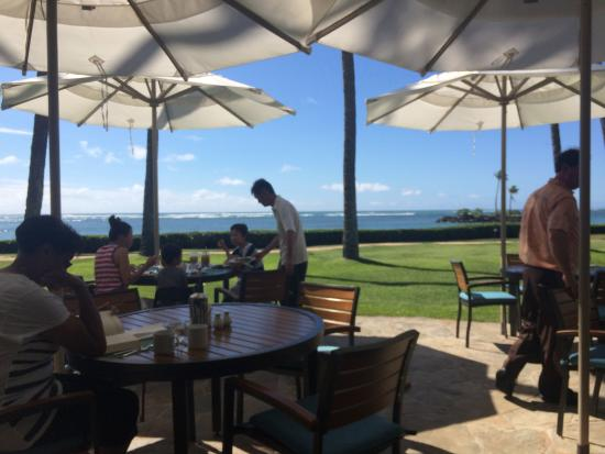The Kahala Hotel Resort Plumeria Beach Restaurant Breakfast At