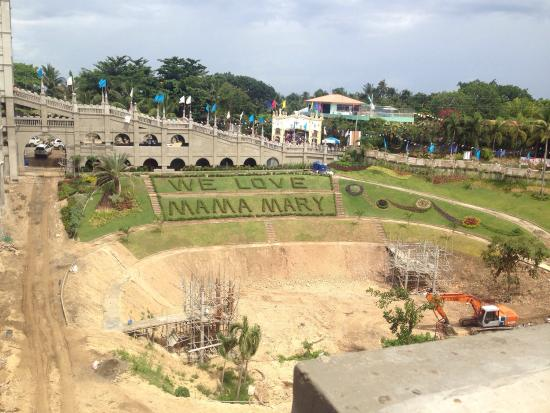how to go to simala church from oslob