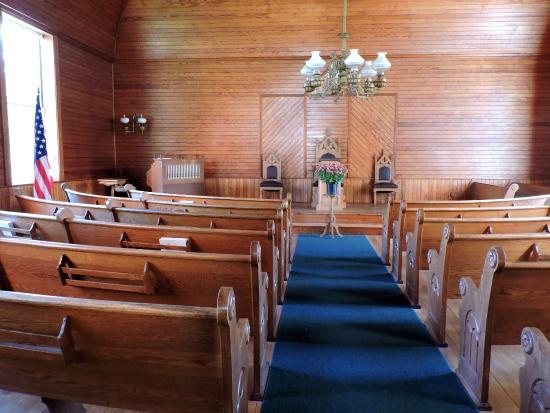 Plymouth, VT: town church