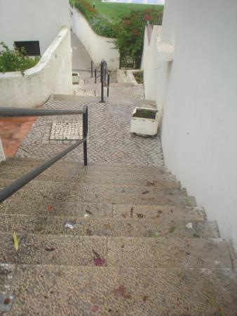Steps picture of albufeira jardim apartamentos for Albufeira jardin