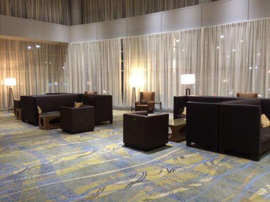 modern furniture and up to date electronics picture of hilton rh tripadvisor com