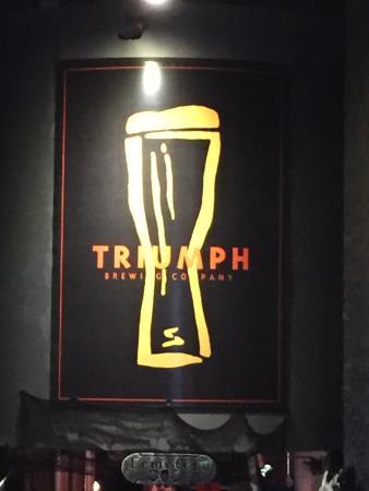 Triumph Brewing Company: Triumph brewing