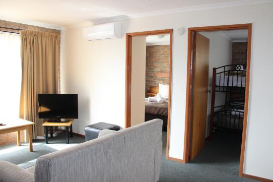 Burnie Ocean View Motel and Holiday Caravan Park: 2 Bed Room Park View Room