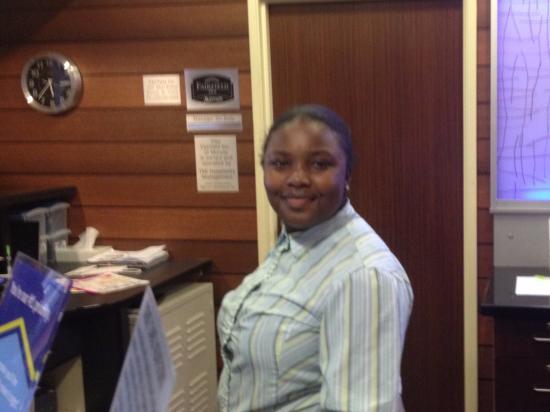 Fairfield Inn Muncie: Helpful Front Desk