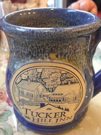 Tucker Hill Inn: Delicious morning coffee!!