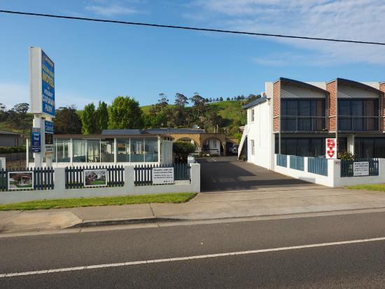 Burnie Ocean View Motel and Holiday Caravan Park: Front Entrance