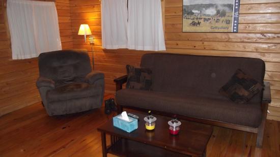 Drummer Boy Camping Resort: Living Area