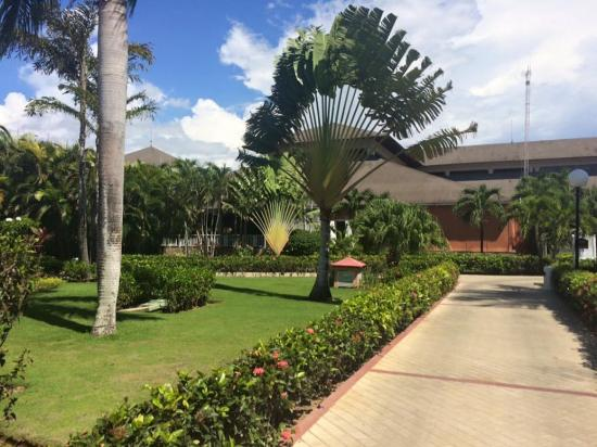 Bahia Principe Grand La Romana: View outside front door of the room