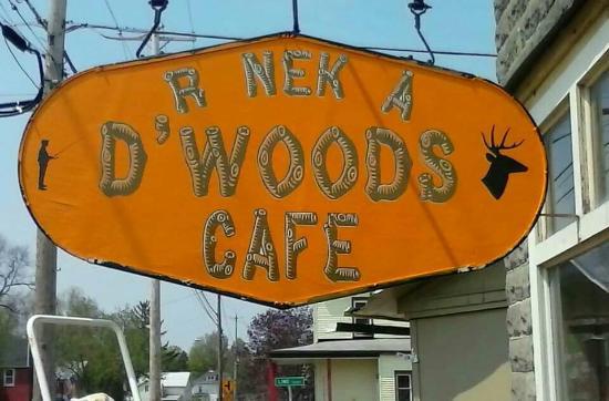 Natural Bridge, Estado de Nueva York: R NEK A D'WOODS CAFE