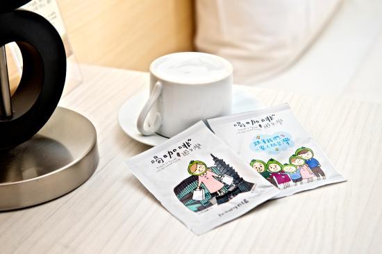 We Meet Boutique Hotel: 咖啡包