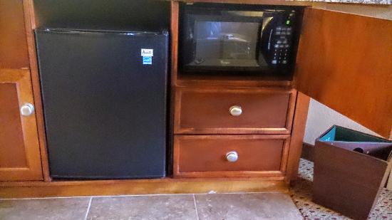 Embassy Suites by Hilton Tucson Paloma Village: Refrigerator and Microwave