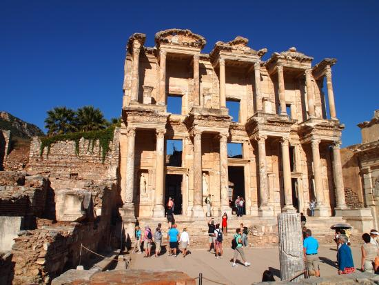 The Library at Ephesus - Picture of Ephesus Shuttle Day ...