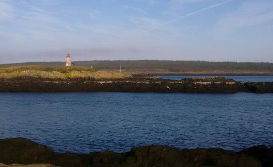 Westport, Canada: Peters Island Lighthouse from Brier Island