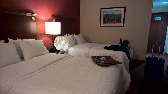 Hampton Inn Waynesboro / Stuarts Draft : beds