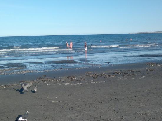Cabanas Las Brisas: La playa