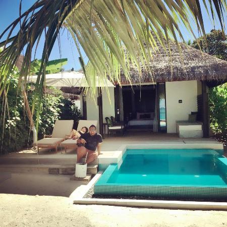 Velaru Maldives Private Pool Of Beach Villa Room 316