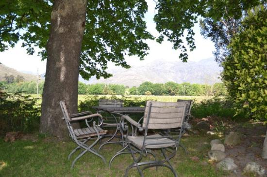 Le Manoir de Brendel Estate: View from the garden
