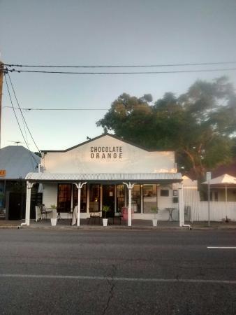 Westport & Lee Cafe: The shop front