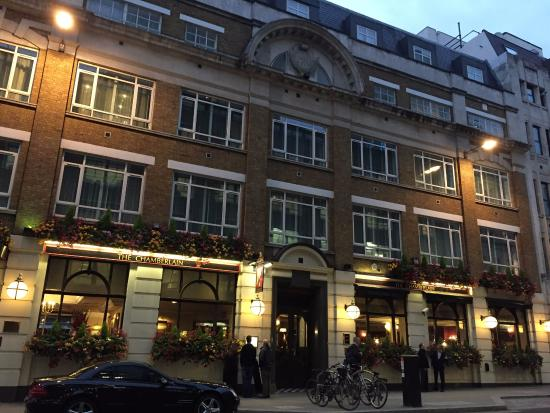 Chamberlain Hotel London Check Out Time