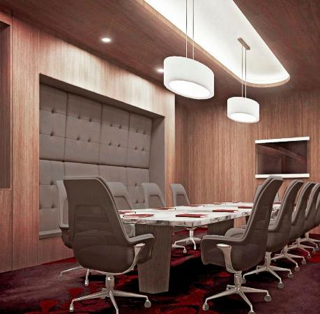 The Watergate Hotel: State-of-the-Art Boardroom
