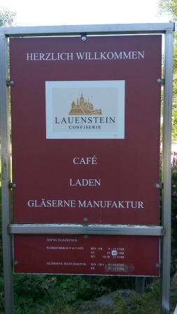 Ludwigsstadt, Deutschland: Confiserie Burg Lauenstein