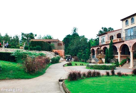 La Toscana Resort: วิวกลางวัน