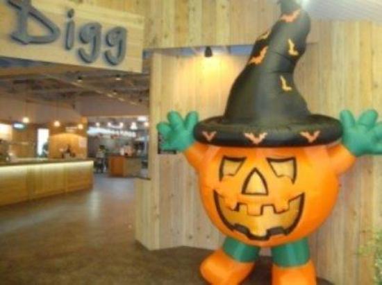 Trowell, UK: Mr Pumpkin blows you away