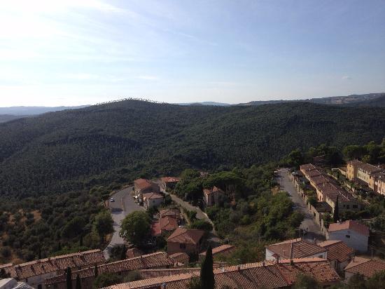Castello di Montemassi: Общий вид