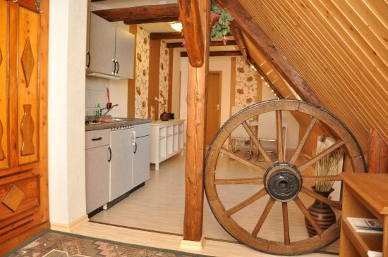 Wellness Pension Vier Napoleonslinden: Ferienwohnung Limone, 48 m²