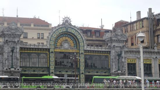 Arriaga: View from room (street side)