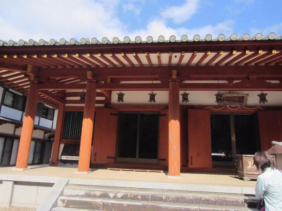 Mt. Miwa : 本堂、ここでも願い事をしてしまいました。
