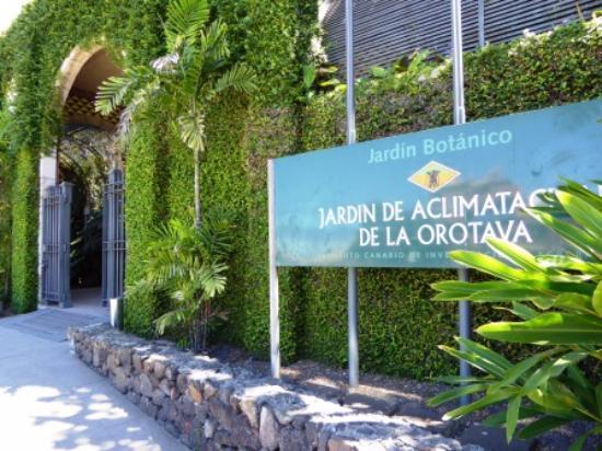 Entrance - Picture of Botanical Gardens (Jardin Botanico), Puerto de la Cruz ...