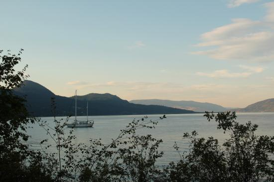 Fintry Estate & Provincial Park: Uitzicht over het meer