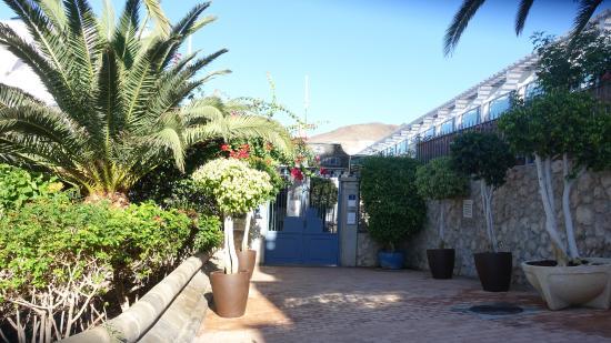 Igramar Morrojable Apartments : Eingangsbereich der Anlage
