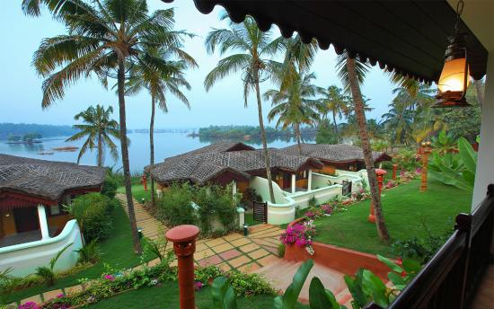 Fragrant Nature Backwater Resort & Ayurveda Spa: View from Villa