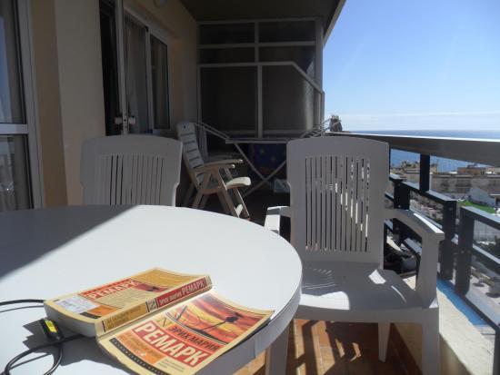 Apartamentos Nucleo Cristal : Наш балкон