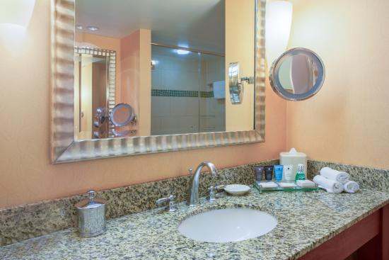 Crowne Plaza Dulles Airport Hotel: Private Guest bathroom in every room with shower and tub