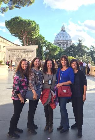 About Rome - Best Walking Tours with Micaela: Best tour guide !